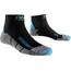 X-Socks Run Discovery Löparstrumpor Dam grå/svart